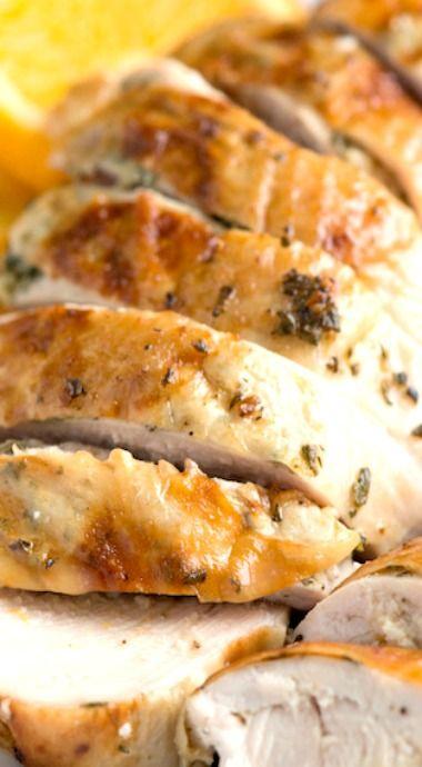 Best 25 western food menu ideas on pinterest vintage graduation garlic herb roasted turkey breast recipe with orange forumfinder Images
