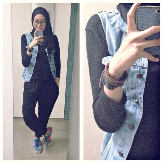 Simple 25 Best Ideas About Denim Joggers Outfit On Pinterest