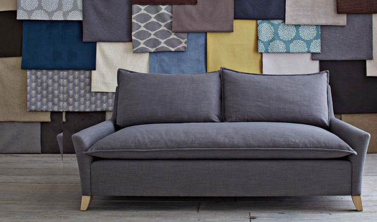 Colors, patterns against gray sofa