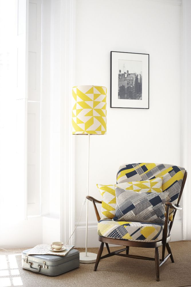 Tamasyn Gambell | Simple Geometry | Axis + Plane Curve Linen | www.tamasyngambell.com