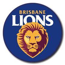 BRISBANE LIONS TEAM BADGE