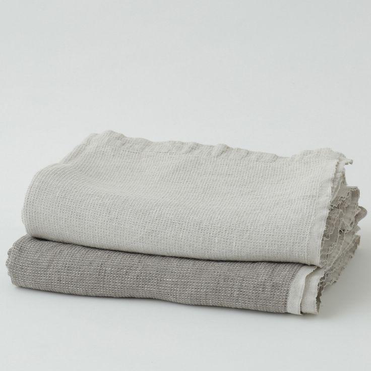 Washed Waffle Blanket: Natural U2013 Shop Fog Linen