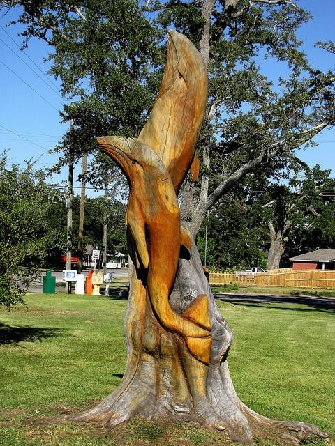 Best dead tree sculpture images on pinterest carved