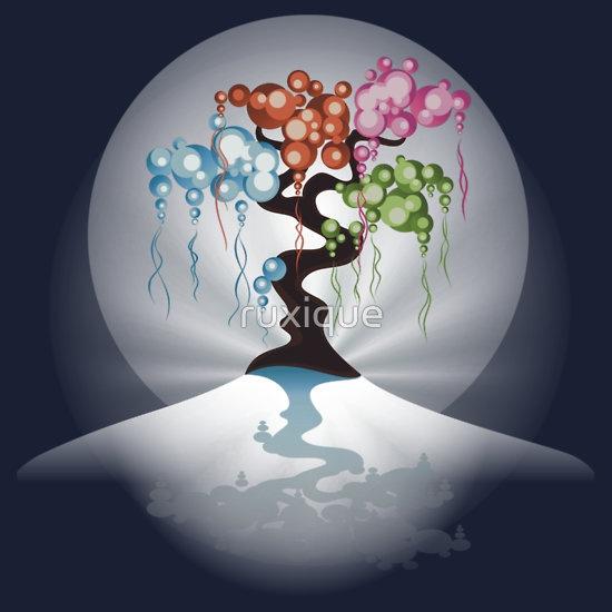 The Four Seasons Bubble Tree - Tee