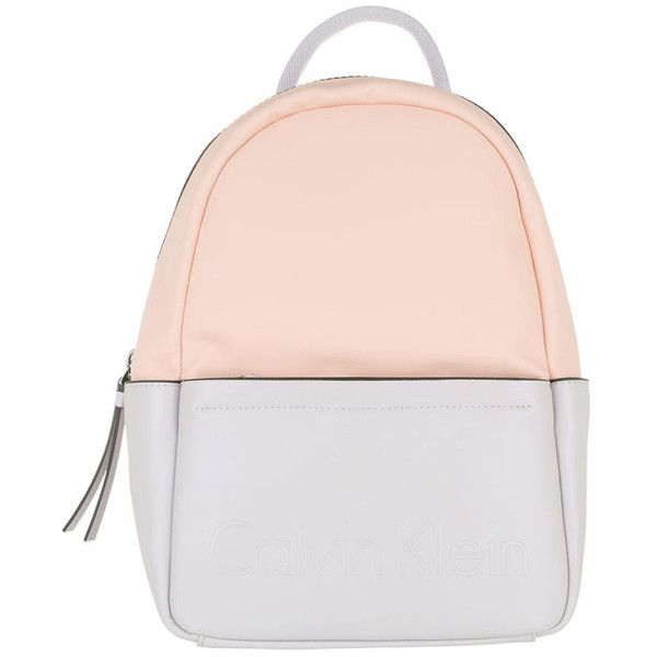 Calvin Klein Shoulder Bag - Susi 3 Backpack Lilac / Pink - in purple,... (2,550 MXN) ❤ liked on Polyvore featuring bags, backpack shoulder bag, pink backpack, pink bag, zip bag and calvin klein