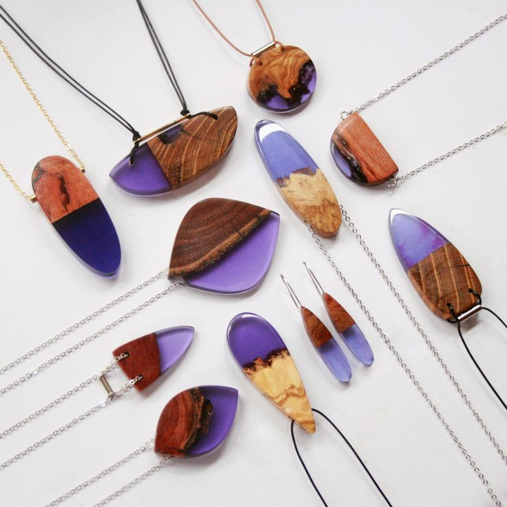 Jagged Wood Fragments Find New Purpose When Fused with Resin by Jeweler Britta Boeckmann   Colossal