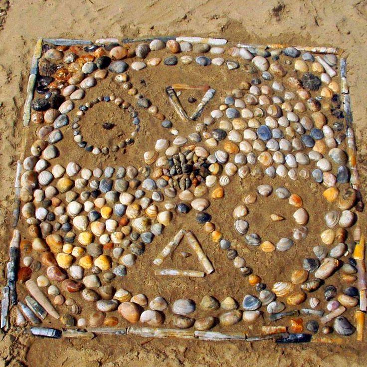Dorset Beach Mandala