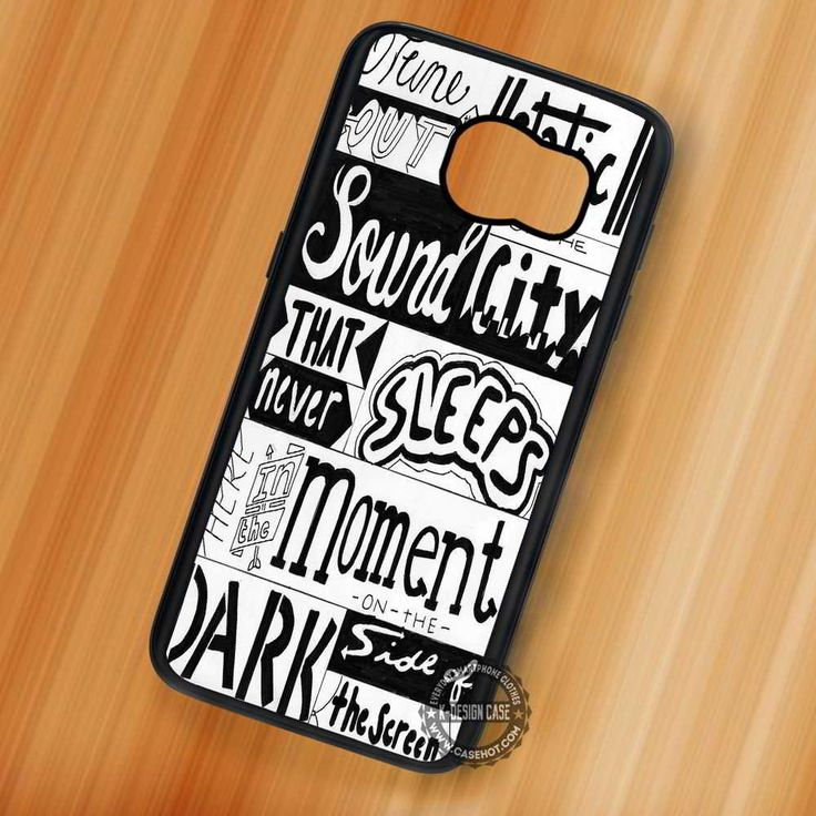 Disconnected Lyrics 5 Seconds of Summer - Samsung Galaxy S7 S6 S5 Note 7 Cases & Covers