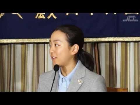 浅田真央選手 外国特派員協会会見 - YouTube
