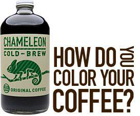 : Coffee Drinks Recipes, Chameleons Coldbrew, Coff Drinks Recipes, Cold Brewing Coffee, Coffee And Teas, Coffee Recipes, Coffee Drink Recipes, Chameleons Mention, Chameleons Cold Brewing