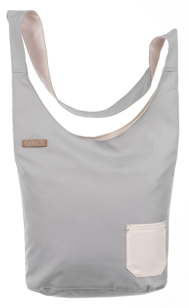 torba colours COOL GRAY - qoga_bags - Torby szkolne