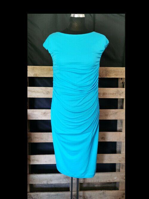 damen kleid marc cain gr 4 40 tuerkis oder blau