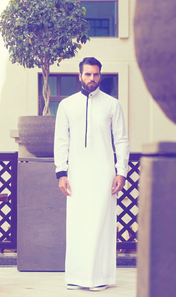 Years ago, anyone in the Gulf would see men of all ages only wearing the known traditional thobe.