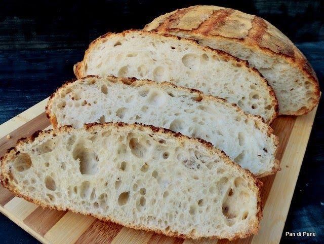 Pan di Pane: Ricetta Pane a Lievitazione Naturale con Prefermen...