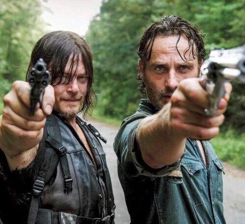 morti che camminano rick Daryl