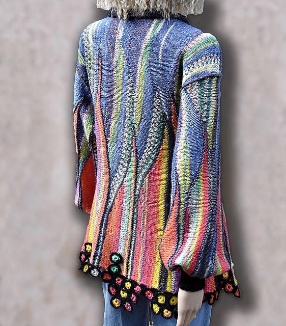 Ravelry: Painterly pattern by Nadita Swings                        Beautiful