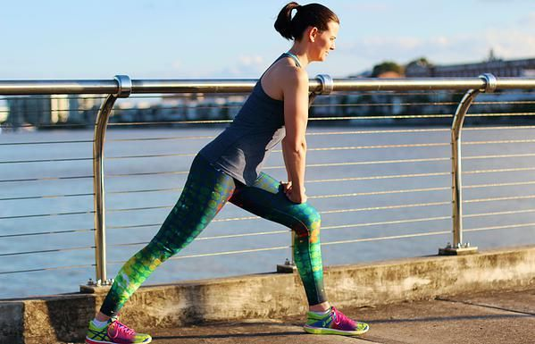 subXsports Active Wear Emerald Space Long Leggings $85AUD