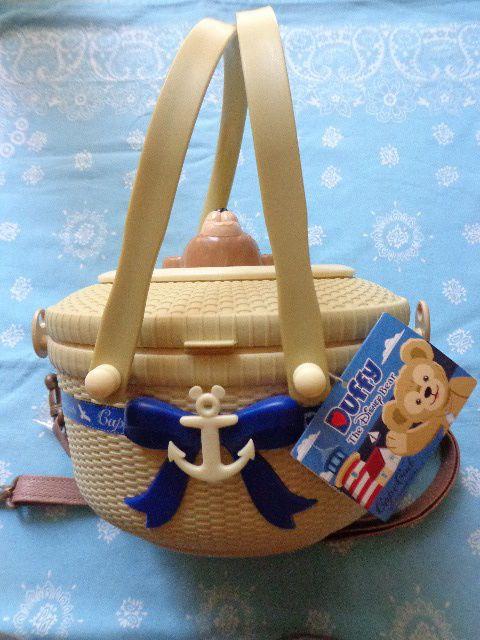 JAPAN Tokyo Disneyland Disney SEA Resort Popcorn Bucket DUFFY BEAR 2010 MARCH