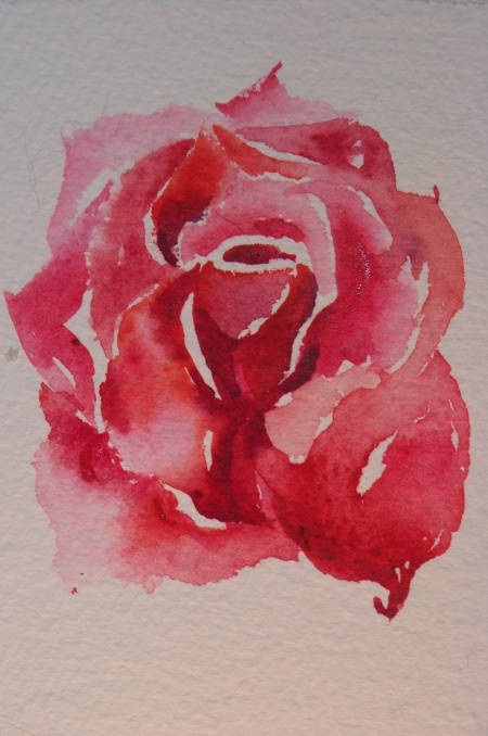 Water colour rose, i want this as a tattoo