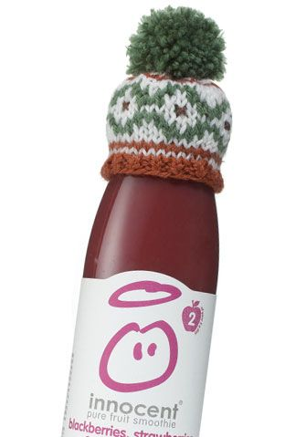 Innocent Smoothie 'The Big Knit'.