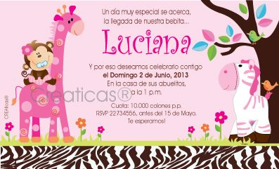 Decoracion baby shower para ni a animal print buscar con - Decoracion de baby shower nina ...