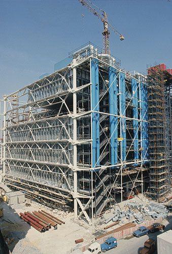 52 best pompidou center images on pinterest renzo piano - Centre george pompidou architecture ...