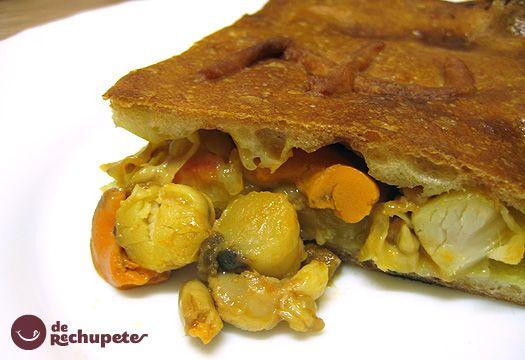 Receta de empanada de Zamburiñas a la gallega - Recetasderechupete.com