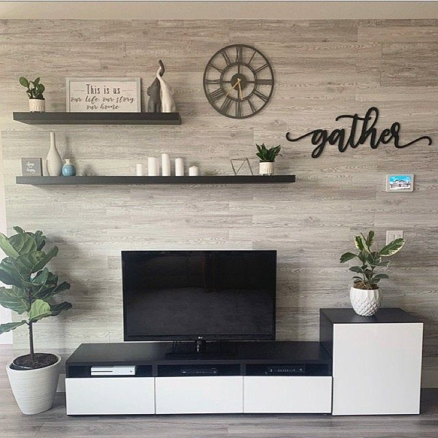 Gather Wooden Wall Sign Farmhouse Decor Family Room Walls Living Room Tv Wall Accent Walls In Living Room
