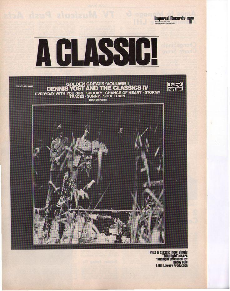 Classics IV - Billboard ad