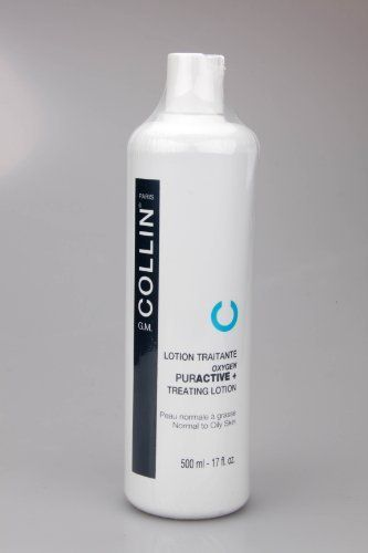 GM G.M. COLLIN LOTION TRAITRANTE OXYGEN PURACTIVE + TREATING LOTION NORMAL TO OILY SKIN 500ml - 17fl oz by GM Collin. $53.00. Expires Oct 2013 or later!. 500ml/17oz. All items are fresh off the shelves.. Professional Size. G.M Collin Oxygen Puractive Treating Lotion. Alcohol and fragance-free lotion. With seven plant extracts and 100% natural ingredients, purifies,detoxifies and soothes the skin. Evens the complexion for a smooth and matte finish. Helps maximize skin care ...