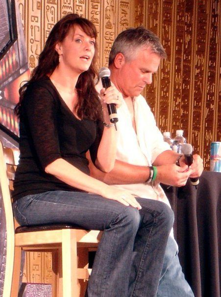 richard dean anderson and amanda tapping | Amanda Tapping & Richard Dean Anderson