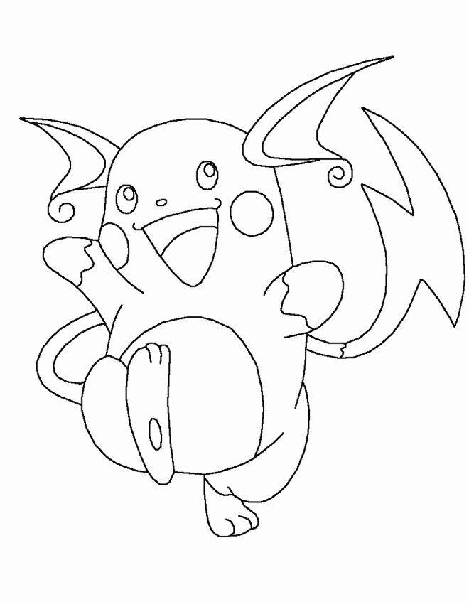 Alolan Raichu Coloring Page : alolan, raichu, coloring, Alolan, Raichu, Coloring, Awesome, Pokemon, Pages, Coloring,, Pages,