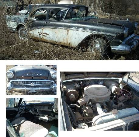 1957 Buick Riviera Special Great Parts Car (Homer NE) $2500: 1957 Buick Riviera Special Car still has many good parts that can be used. No…