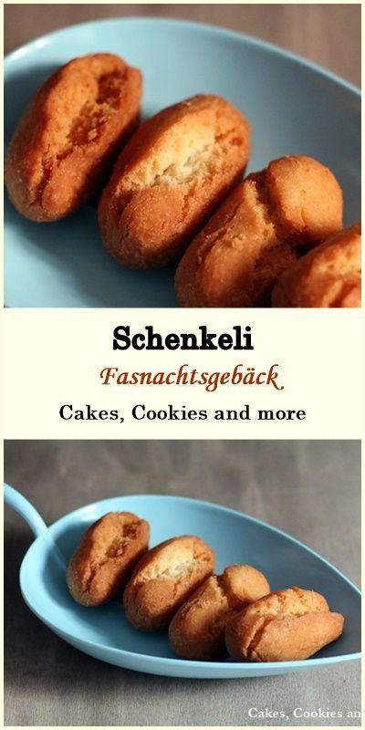 Rezept für Fasnachtsgebäck - Schenkeli (Schänkeli) #rezept #fasnacht #gebäck #schenkeli