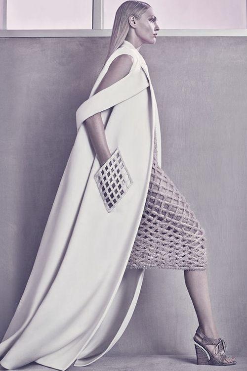"pivoslyakova: "" Balenciaga Spring/Summer 2015 Ad Campaign by Steven Klein. """