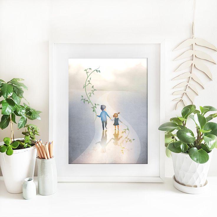 Customisable Portraits of your nature loving children by Paula Kuka | Common Wild.