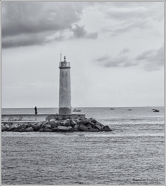 Lighthouse at the entrance to #Bosporus in Turkey by Lana Danilova, via Flickr