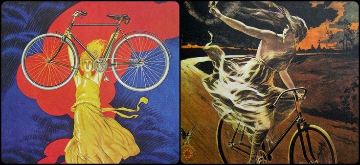 / L'invention du vélo participe à l'émancipation des femmes