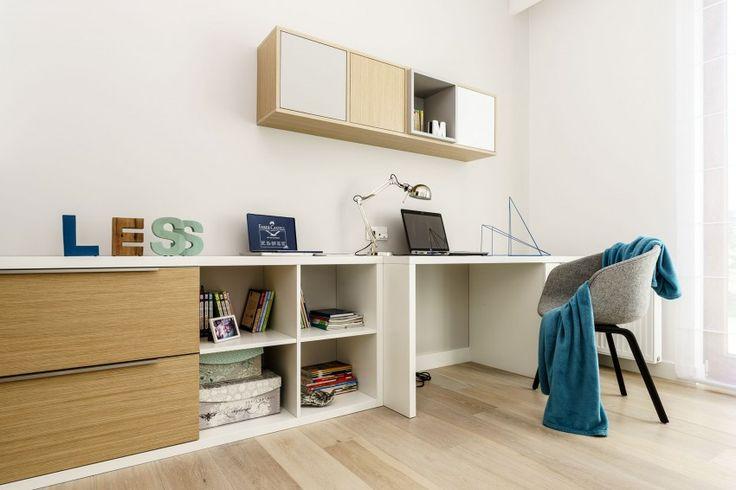 Minimalist Apartment in Gdynia by Dsgn Studio Dragon Art (13) 臥室 桌邊櫃