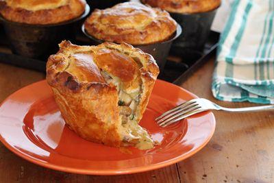 Maggie Beer's Country Chicken & Mushroom Pies