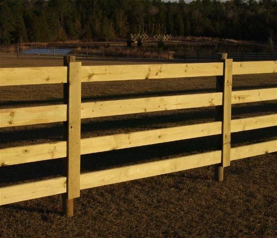 Wood Rail Fences Designs Our Fences Livestock And