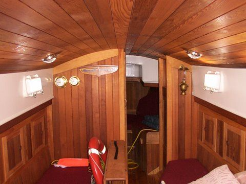Ethel ada 60 000 thomas e colvin custom steel sailboat for Yacht interior design decoration