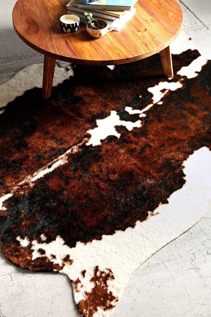 best 10 cow skin rug ideas on pinterest animal hide rugs