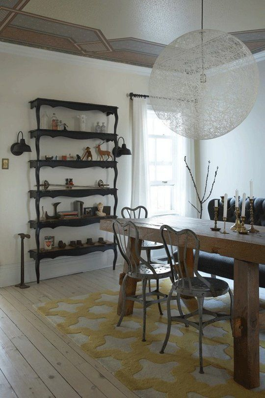 DIY Inspiration: Stacked Table Shelving | Apartment Therapy
