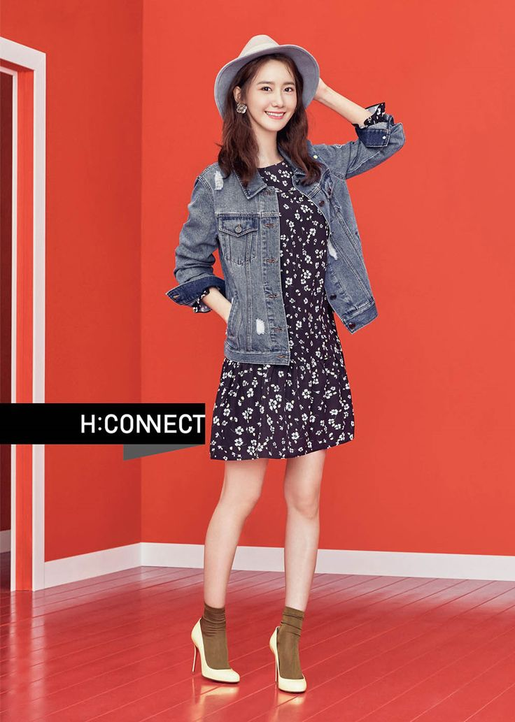 Girls' Generation's Yoona for H:Connect Spring 2017 Lookbook