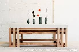 Image result for diy cement top table
