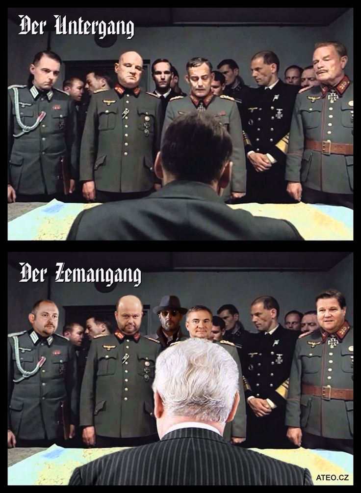 Der Untergang des ZemanGangs #zeman #hašek