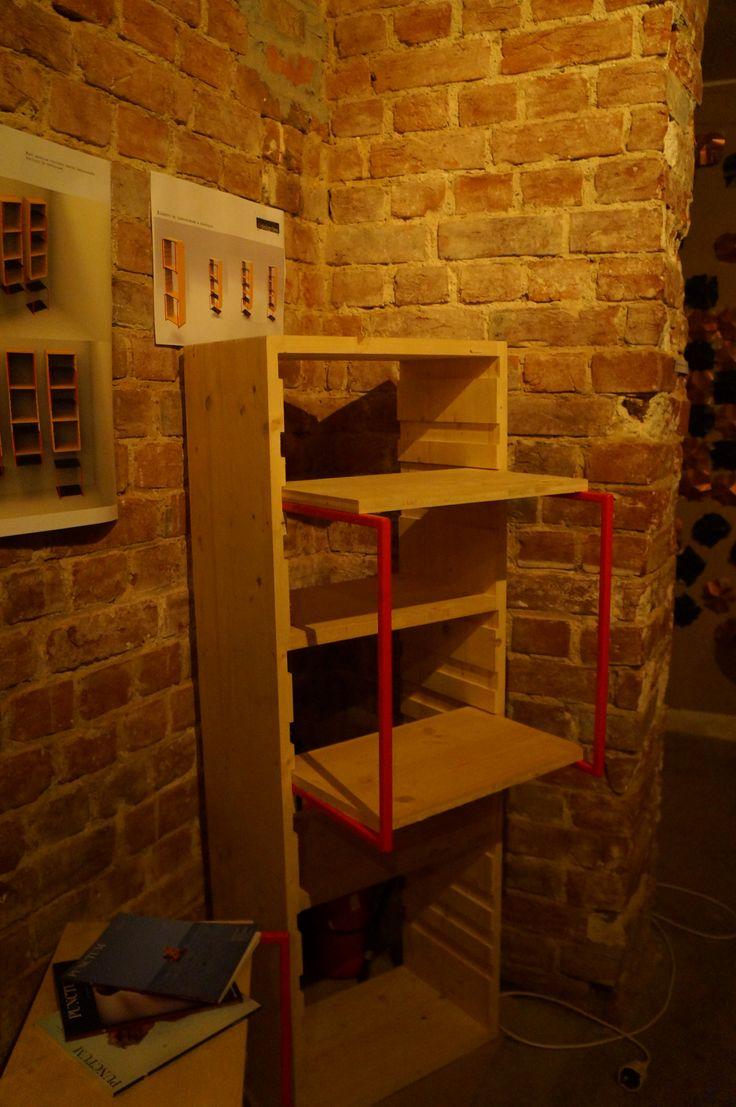Made by A I T O, Bucharest - Romania UC Shelf Designer: Emanuel Cinca  https://www.facebook.com/ladesignarie?fref=ts