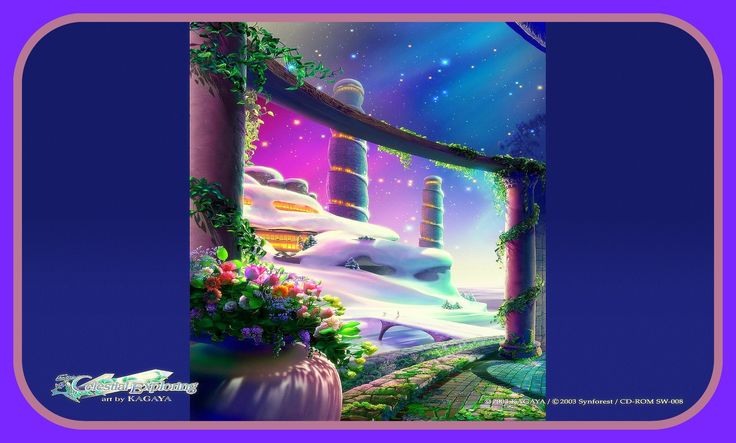 The White Palace - The Celestial Exploring by Kagaya Card - Edited by Picasa3