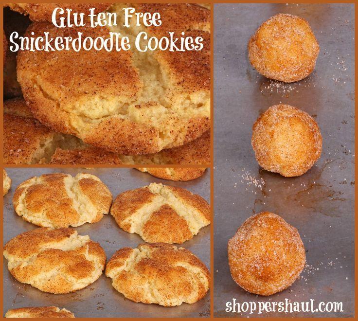 Gluten Free Snickerdoodle Cookies Recipe